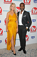 Portia Oduba and Ore Oduba at the TV Choice Awards 2018, The Dorchester Hotel, Park Lane, London, England, UK, on Monday 10 September 2018.<br /> CAP/CAN<br /> &copy;CAN/Capital Pictures