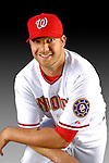 25 February 2007: Washington Nationals pitcher Jon Rauch poses for his Photo Day portrait at Space Coast Stadium in Viera, Florida.<br /> <br /> Mandatory Photo Credit: Ed Wolfstein Photo<br /> <br /> Note: This image is available in a RAW (NEF) File Format - contact Photographer.