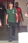 12.05.2018, OPEL Arena, Mainz, GER, 1.FBL, 1. FSV Mainz 05 vs SV Werder Bremen<br /> <br /> im Bild<br /> Max Kruse (Werder Bremen #10), Anthony Ujah (FSV Mainz 05 #20) im Spielertunnel, <br /> <br /> Foto &copy; nordphoto / Ewert