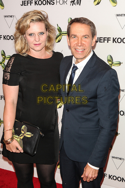NEW YORK, NY - JULY 15: Justine Wheeler Koons and Jeff Koons attend the H&amp;M Flagship Fifth Avenue Store launch event at H&amp;M Flagship Fifth Avenue Store on July 15, 2014 in New York City.  <br /> CAP/MPI/COR99<br /> &copy;COR99/MPI/Capital Pictures