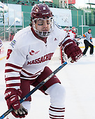 Jake Horton (UMass - 8) - The Boston University Terriers defeated the University of Massachusetts Minutemen 5-3 on Sunday, January 8, 2017, at Fenway Park in Boston, Massachusetts.The Boston University Terriers defeated the University of Massachusetts Minutemen 5-3 on Sunday, January 8, 2017, at Fenway Park.