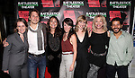 Sarah Cameron Sunde, McCaleb Burnett, Karen Allen, Samantha Soule, Maren Bush, Pamela Shaw and Carlo Alban attending the Opening Night Performance of The Rattlestick Playwrights Theater Production of 'A Summer Day' at the Cherry Lane Theatre on 10/25/2012 in New York.