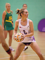 07 OCT 2009 - LOUGHBOROUGH, GBR - Sarah Jane O'Sullivan - Loughborough Lightning v Australian Diamonds (PHOTO (C) NIGEL FARROW)