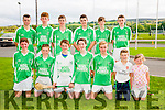 Ballyduff  U16 Team  at the  Parnells Invitational Tournament in John Mitchells GAA on Saturday