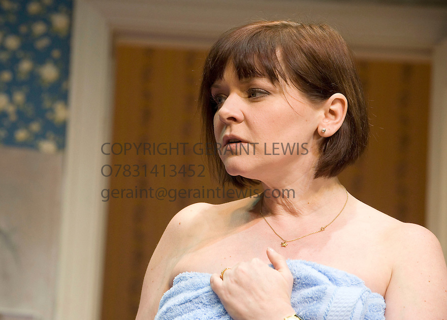 Bedroom Farce by Alan Ayckbourn,directed by Peter Hall.With Finty Williams as Kate.Opens at The Duke of Yorks Theatre  on 30/3/10 Credit Geraint Lewis