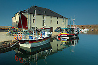 Cromwell Harbour in the fishing town of Dunbar, East Lothian<br /> <br /> Copyright www.scottishhorizons.co.uk/Keith Fergus 2011 All Rights Reserved