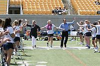 BERKELEY, CA - April 23, 2017: Cal Bears Women's Lacrosse vs. Colorado at California Memorial Stadium. Final Score: Colorado 18, Cal Bears 6