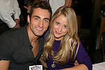 Host of event Scott Nevins and GL Marcy Rylan at 22nd Annual Broadway Flea Market & Grand Auction to benefit Broadway Cares/Equity Fights Aids on Sunday, September 21, 2008 in Shubert Alley, New York City, New York. (Photo by Sue Coflin/Max Photos)
