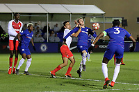 Charlie Brown of Chelsea tries to shake off a challenge during Chelsea Under-19 vs AS Monaco Under-19, UEFA Youth League Football at the Cobham Training Ground on 19th February 2019
