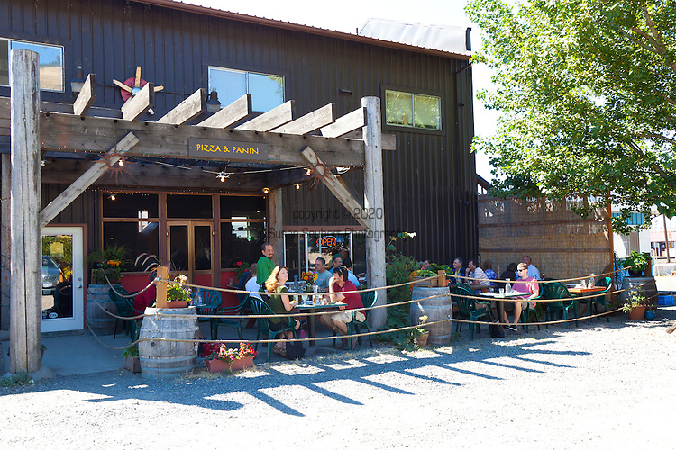 Solstice, a cafe that features a wood fired oven, local beer and wine, food made with locally sourced ingredients in Bingen Washington, located in Washington's Columbia River Gorge
