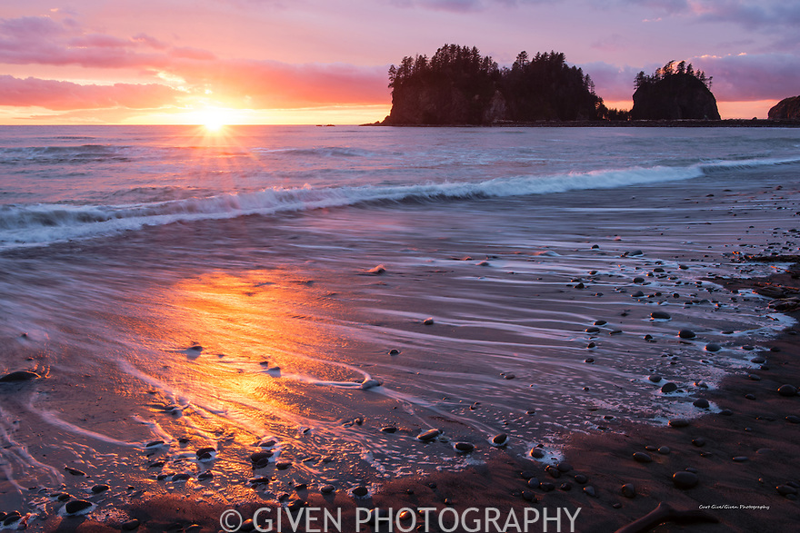 Sunset, Olympic National Park