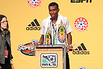 13 January 2011: CD Chivas USA selected Victor Estupinan (ECU) with the #14 overall pick. The 2011 MLS SuperDraft was held in the Ballroom at Baltimore Convention Center in Baltimore, MD during the NSCAA Annual Convention.