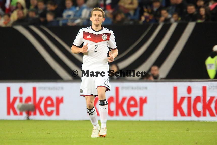 Sebastian Jung (D) - Deutschland vs. Polen, WM-Vorbereitung Testspiel, Imtech Arena Hamburg
