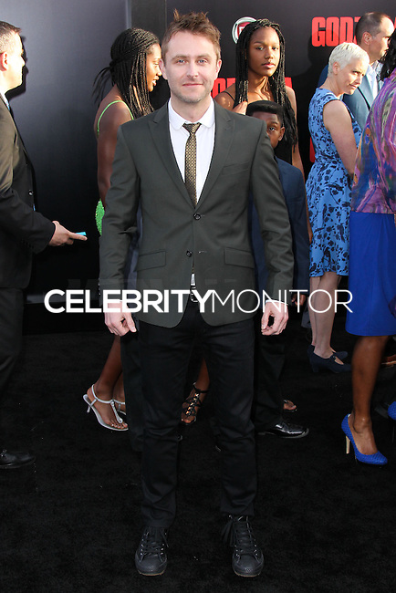 "HOLLYWOOD, LOS ANGELES, CA, USA - MAY 08: Chris Hardwick at the Los Angeles Premiere Of Warner Bros. Pictures And Legendary Pictures' ""Godzilla"" held at Dolby Theatre on May 8, 2014 in Hollywood, Los Angeles, California, United States. (Photo by Xavier Collin/Celebrity Monitor)"