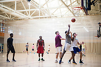 Dawg Days URec - students basketball tournament at Sanderson.<br />  (photo by Megan Bean / &copy; Mississippi State University)