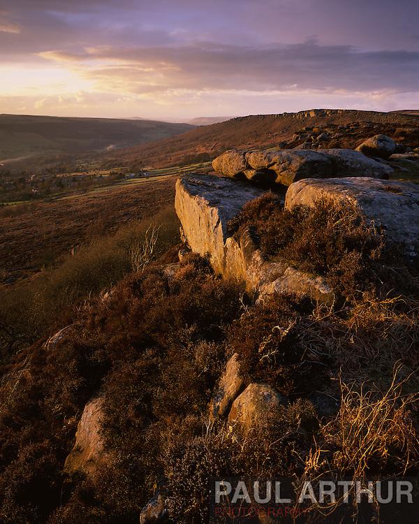Curbar Edge, Peak District