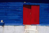 France/DOM/Martinique/Sainte-Marie: Détail habitation