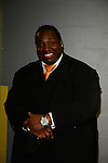 MIAMI, FL - JANUARY 16: Actor/Comedian Bruce Bruce backstage during The Festival of Laughs day1 at James L Knight Center on Friday January 16, 2015 in Miami, Florida. (Photo by Johnny Louis/jlnphotography.com)