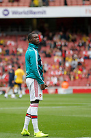 Nicolas Pépé of Arsenal during the Premier League match between Arsenal and Aston Villa at the Emirates Stadium, London, England on 22 September 2019. Photo by Carlton Myrie / PRiME Media Images.