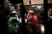 Sarajevo 09.12.2009 Bosnia and Herzegovina<br /> Bosnia and Herzegovina for many years dreamed to be adopted into the European Union. On the streets, everybody can see young and old people who looks like Europeans. Streets in the city center are also similar to European cities. Unfortunately, all people in BiH know that political disagreement between warring nationalities in the parliament does not help them to be accepted into the EU.<br /> Photo: Adam Lach / Newsweek Polska / Napo Images<br /> <br /> BiH od wielu lat marzy by przyjeto ja do UE. NA ulicach widac mlodych i starszych ludzi ktory wygladaja jak europejczycy. Ulice w centrum miasta sa rownie podobne do miast europejskich. Niestety wewnetrznie wszyscy wiedza ze polityczna niezgoda pomiedzy zwasnionymi narodowosciami w parlamencie nie pomaga im na to by przystapic do UE.<br /> Photo: Adam Lach /  Newsweek Polska / Napo Images