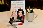 CORAL GABLES, FL - August 17: General view of book on display during author Dr. Carmen Harra signs copies of her book 'The Karma Queens' Guide to Relationships' at Books and Books-Gables on Monday August 17, 2015 in Voral Gables, Florida.  ( Photo by Johnny Louis / jlnphotography.com )
