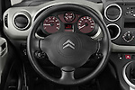 Steering wheel view of a 2008 - 2014 Citroen BERLINGO Multispace 5-Door Mini Mpv 2WD
