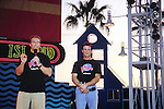 "Arnold Schwarzenegger and Sylvester Stallone .""Planet Hollywood"" ground breaking ceremony at .Disney World, FL November 19, 1993."