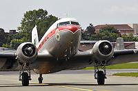 Douglas DC3 air transport aircraft
