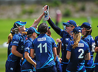 150104 Women's Cricket - Wellington Blaze v Auckland Hearts