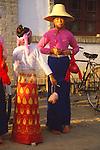 China, Dai women in Xishuangbanna Dai Autonomous Prefecture, Yunnan Province