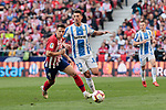 Atletico de Madrid's Santiago Arias and CD Leganes's Mikel Vesga during La Liga match between Atletico de Madrid and CD Leganes at Wanda Metropolitano stadium in Madrid, Spain. March 09, 2019. (ALTERPHOTOS/A. Perez Meca)