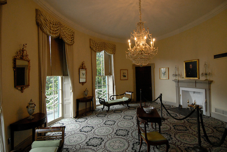 Fairmount Park, Lemon Hill Mansion, oval room..Philadelphia, Pennsylvania, PA USA.  Photo copyright Lee Foster, 510-549-2202, lee@fostertravel.com, www.fostertravel.com. Photo 241-30623