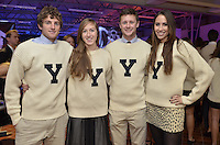 Yale Team Captains at the Blue Leadership Ball '11, Yale University Athletics. Ball and Awards Presentation, Lanman Center, Payne Whitney Gymnasium.