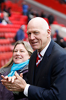 Former Charlton Athletic FC player Bob Bolder seen during the Sky Bet League 1 match between Charlton Athletic and Fleetwood Town at The Valley, London, England on 17 March 2018. Photo by Carlton Myrie.