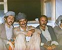 Iraq 1982  .In Nawzang, Komala conference, from left to right, Arsalan Baez, Awat raffoul, Ali Pitchkol .Irak 1982 .A Nawzzng, conference du Komala, de gauche a droite, Arsalan Baez, Awat Raffoul, Ali Pitchkol