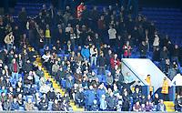 Preston North End fans enjoy the atmosphere inside Portman Road<br /> <br /> Photographer David Shipman/CameraSport<br /> <br /> The EFL Sky Bet Championship - Ipswich Town v Preston North End - Saturday 3rd November 2018 - Portman Road - Ipswich<br /> <br /> World Copyright &copy; 2018 CameraSport. All rights reserved. 43 Linden Ave. Countesthorpe. Leicester. England. LE8 5PG - Tel: +44 (0) 116 277 4147 - admin@camerasport.com - www.camerasport.com