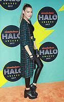 NEW YORK, NY - NOVEMBER 4:  Eva Shaw  at the 2017 Nickelodeon Halo Awards at Pier 36 in New York City on November 4, 2017. Credit: RW/MediaPunch