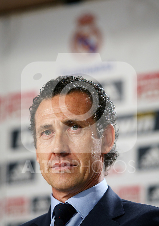 Real Madrid's General Manager Jorge Valdano.June 2 2009. (ALTERPHOTOS/Acero).