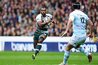Vereniki Goneva of Leicester Tigers in possession. European Rugby Champions Cup semi final, between Leicester Tigers and Racing 92 on April 24, 2016 at The City Ground in Nottingham, England. Photo by: Patrick Khachfe / JMP