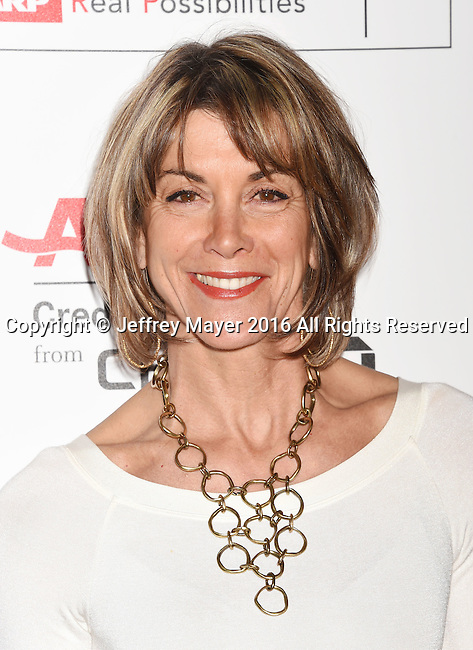 BEVERLY HILLS, CA - FEBRUARY 08: Actress Wendie Malick attends AARP's Movie For GrownUps Awards at the Regent Beverly Wilshire Four Seasons Hotel on February 8, 2016 in Beverly Hills, California.