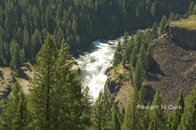 Mesa Falls on the Henry's Fork