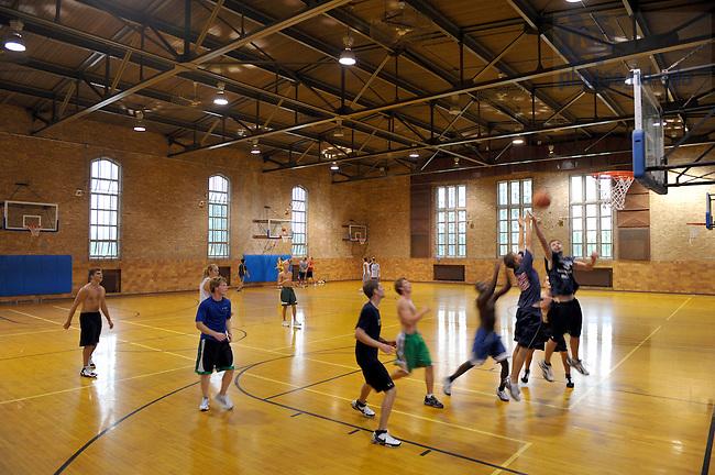 Basketball at Rockne Memorial..Photo by Matt Cashore/University of Notre Dame