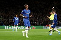 5th November 2019; Stamford Bridge, London, England; UEFA Champions League Football, Chelsea Football Club versus Ajax; Tammy Abraham of Chelsea reacts as his goal is disallowed  - Editorial Use