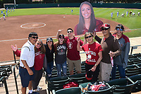 Stanford, Ca - May 5, 2019: The Stanford Cardinal vs UCLA Bruins softball game at Boyd & Jill Smith Family Stadium in Stanford, CA. Final score, Stanford 0, UCLA 4
