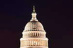 Washington DC; USA: The dome of the Capitol Building, legislative branch of the US government.Photo copyright Lee Foster Photo # 3-washdc82934