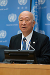 Press Briefing: Presentation of the 2018 Global Tuberculosis Report by the World Health Organization (WHO)<br /> <br /> Speakers:<br /> <br /> <br /> H.E. Mr. Koro Bessho, Permanent Representative of Japan to the United Nations