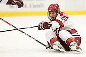 David Valek (Harvard - 22) - The Harvard University Crimson defeated the visiting Colgate University Raiders 4-2 on Saturday, November 12, 2011, at Bright Hockey Center in Cambridge, Massachusetts.
