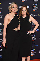 Kate and Helen Richardson-Walsh<br /> arriving for the BT Sport Industry Awards 2018 at the Battersea Evolution, London<br /> <br /> ©Ash Knotek  D3399  26/04/2018