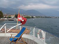 Lake Geneva aboard a classic steamboat