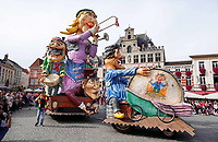 Nederland - Bergen op Zoom - 16 september 2018.  Carnavalsvereniging t Vagevuur. Op zondag 16 september 2018 vindt in Bergen op Zoom de Brabant Stoet plaats. Dit is een grootst opgezet festival van de lopende cultuur. Deze vorm van cultuur is kenmerkend voor Brabant. In de Brabant Stoet zijn zo'n honderd vormen van lopende (en rijdende) cultuur te zien zoals gilden, fanfares, reuzen, carnaval, ommegangen en praalwagens.    Foto Berlinda van Dam / Hollandse Hoogte